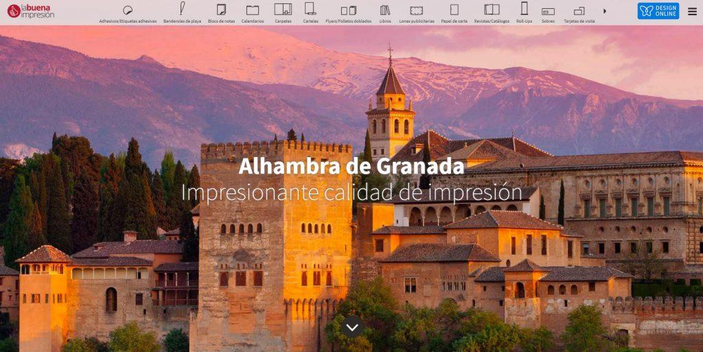Imprenta barata desde Granada
