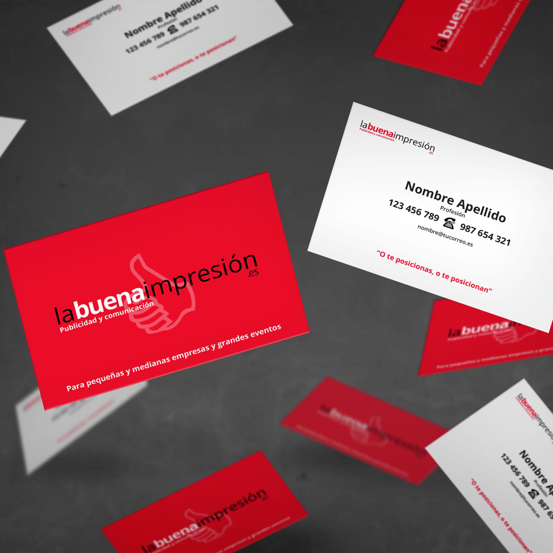 Imprimir tarjetas de visita desde Granada